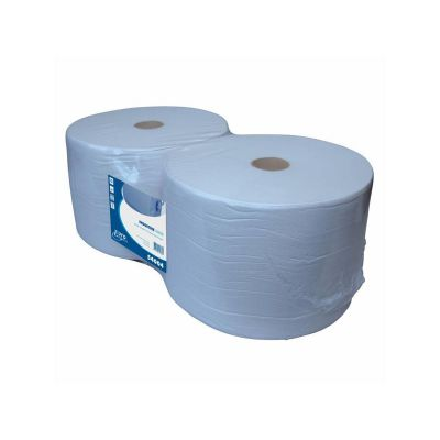 Euro Products 1-laags Industriepapier Euro blauw recycled