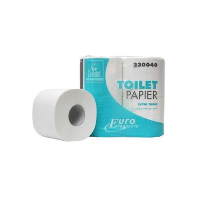 Euro Products Toiletpapier Euro tissue cellulose, 2laags